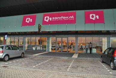 Showroom Q1Sanitair Den Bosch