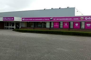 Showroom Q1Sanitair Leeuwarden