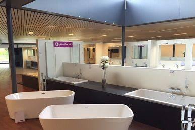 Showroom Q1Sanitair Zeist / Utrecht